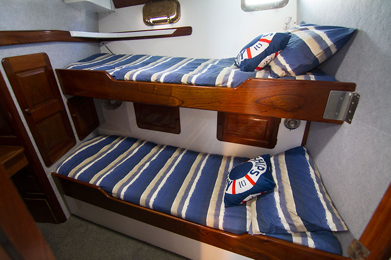 Kimberley Coast Cruises Bunks