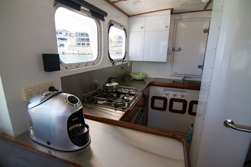 Kimberley Coast Cruises Kitchen